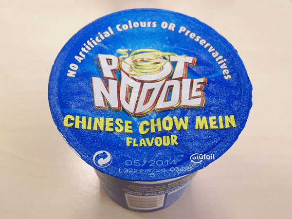 """#210: Pot Noodle """"Chinese Chow Mein"""" Flavour"""