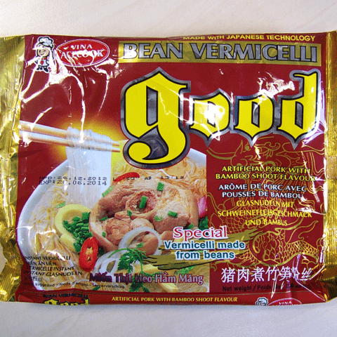"#212: Vina Acecook ""Good Bean Artificial Pork with Bamboo Shoot Flavour"""