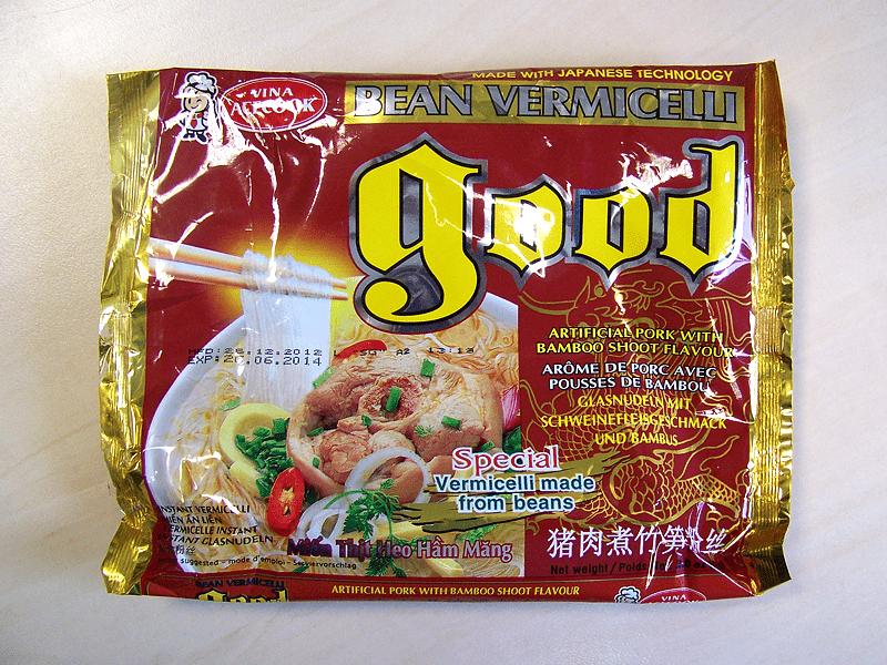 """#212: Vina Acecook """"Good Bean Artificial Pork with Bamboo Shoot Flavour"""""""