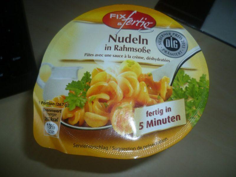 #228: Fix & Fertig Nudeln in Rahmsoße