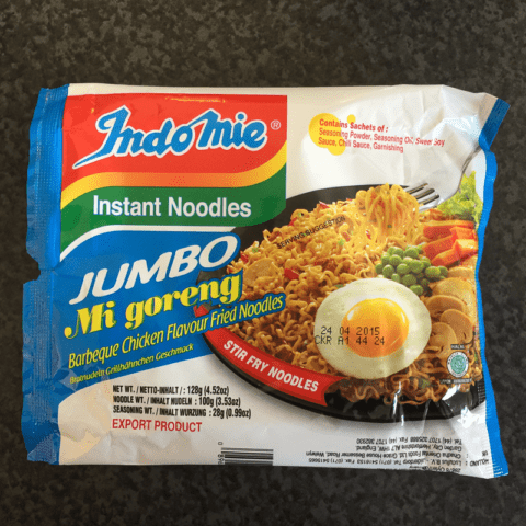 "#219: Indomie Jumbo Mi goreng ""Barbeque Chicken Flavour Fried Noodles"""