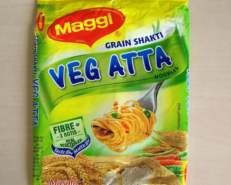 """#214: Maggi """"Veg Atta"""" Grain Shakti Noodles"""