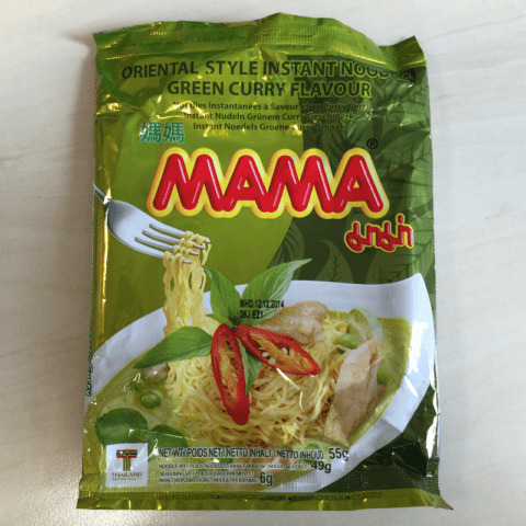 """#225: Mama """"Oriental Style Green Curry Flavour"""" (Update 2021)"""