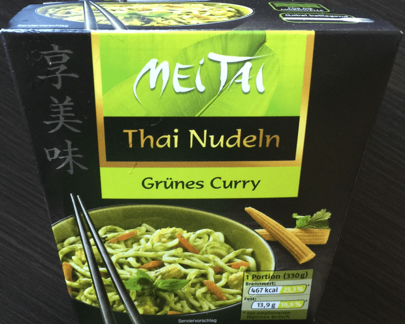 "#237: Mei Tai ""Grünes Curry"" Thai Nudeln"