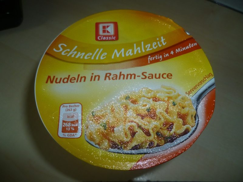 "#251: K-Classic ""Schnelle Mahlzeit"" Nudeln in Rahm-Sauce"