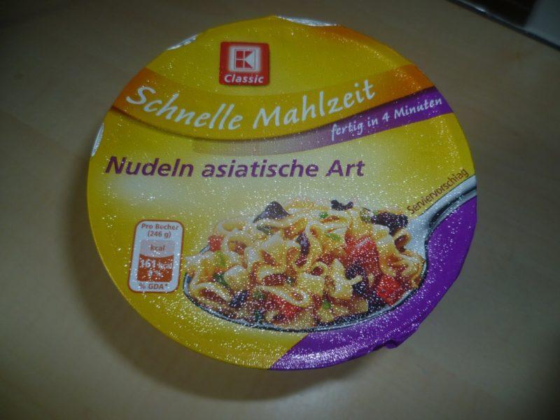 """#254: K-Classic Schnelle Mahlzeit """"Nudeln asiatische Art"""""""