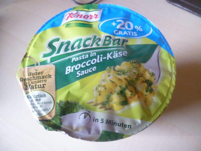 """#270: Knorr Snack Bar """"Pasta in Broccoli-Käse Sauce"""""""
