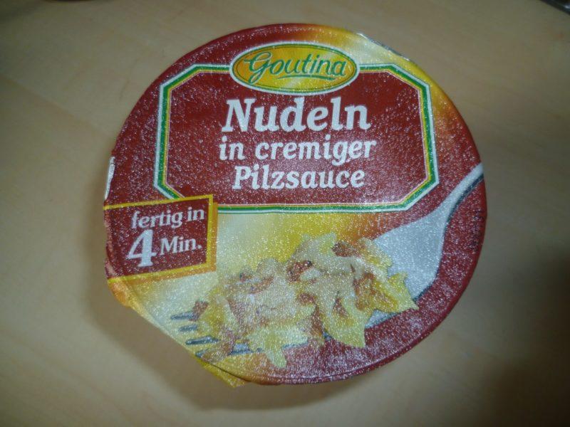 "#277: Goutina ""Nudeln in cremiger Pilzsauce"""