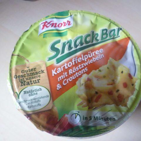 """#279: Knorr Snack Bar """"Kartoffelpüree mit Röstzwiebeln & Croutons"""""""