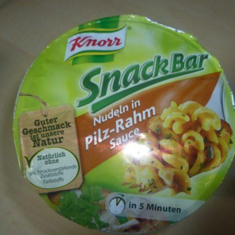 "#282: Knorr Snack Bar ""Nudeln in Pilz-Rahm Sauce"""