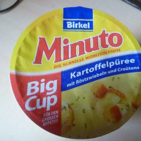 """#283: Birkel Minuto """"Kartoffelpüree mit Röstzwiebeln und Croutons"""" Big Cup"""