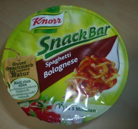 "#286: Knorr Snack Bar ""Spaghetti Bolognese"""
