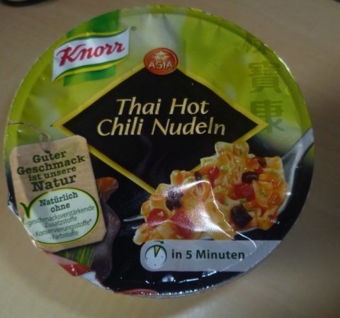 "#289: Knorr Asia ""Thai Hot Chili Nudeln"""