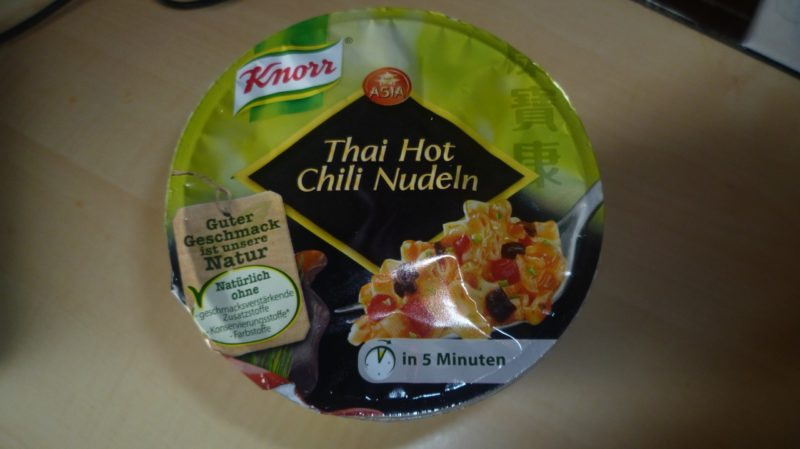 """#289: Knorr Asia """"Thai Hot Chili Nudeln"""""""