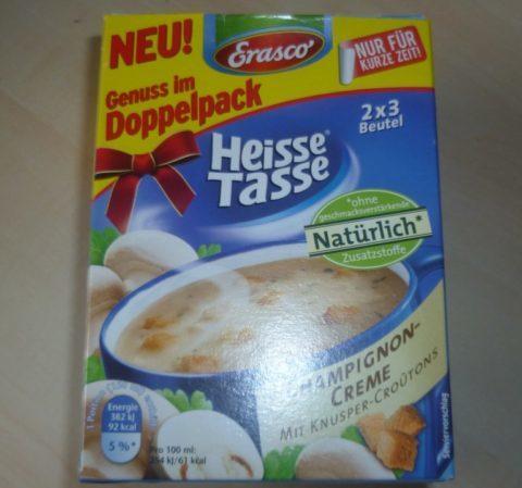 """#299: Erasco """"Heisse Tasse"""" Champignon-Creme"""