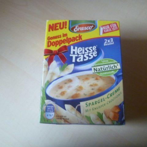 "#308: Erasco ""Heisse Tasse"" Spargel-Creme"