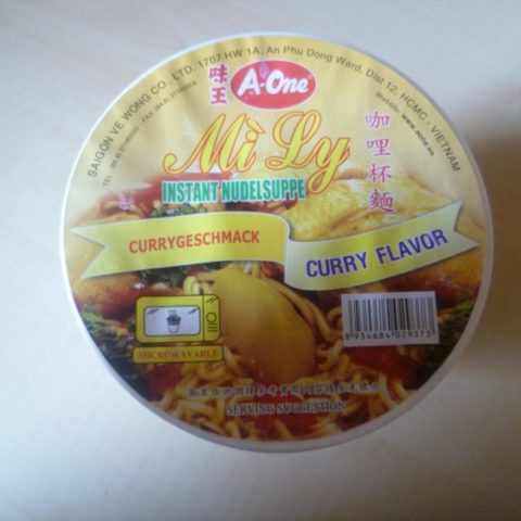"#309: A-One ""Mi Ly"" Curry Flavor (2015)"