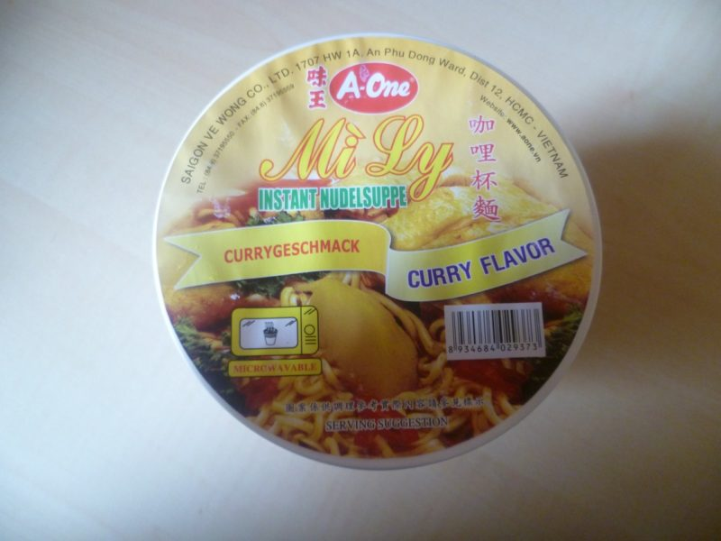"""#309: A-One """"Mi Ly"""" Curry Flavor (2015)"""