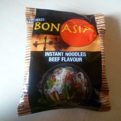 "#321: Bonasia Instant Noodles ""Beef Flavour"""