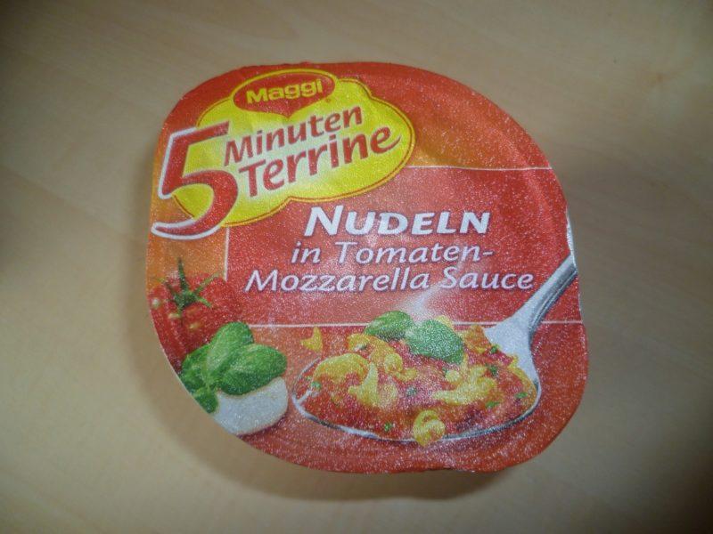 """#322: Maggi 5 Minuten Terrine """"Nudeln in Tomaten-Mozzarella Sauce"""""""
