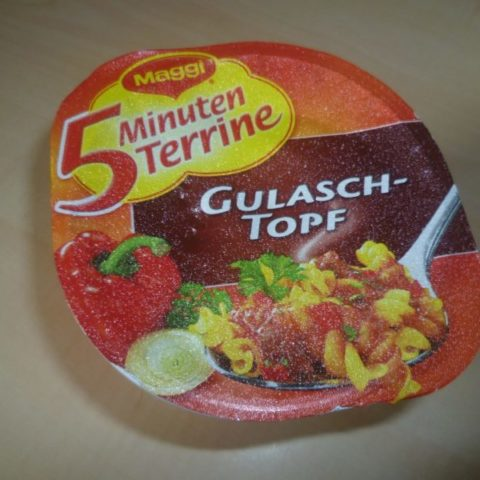 """#324: Maggi 5 Minuten Terrine """"Gulasch-Topf"""""""