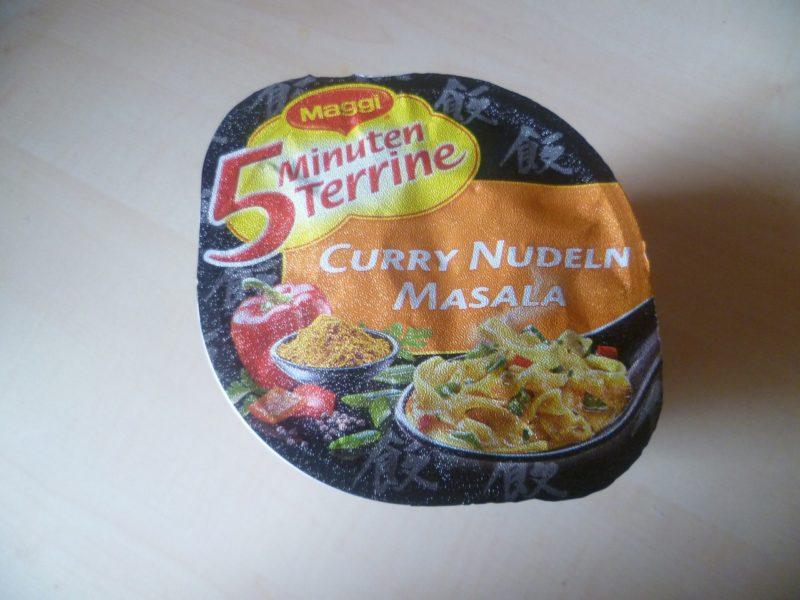 "#325: Maggi 5 Minuten Terrine ""Curry Nudeln Masala"""