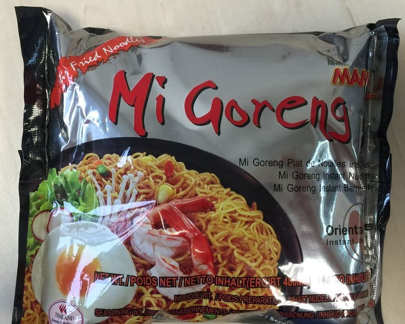 "#317: Mama ""Mi Goreng"" Stir Fried Noodles"