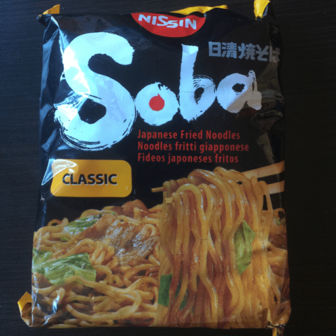 """#287: Nissin Soba """"Classic"""" Fried Noodles"""