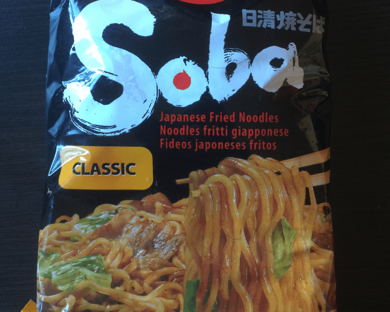 "#287: Nissin Soba ""Classic"" Fried Noodles"