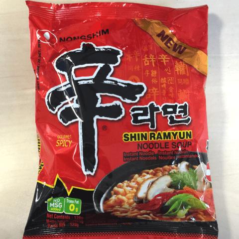 "#302: Nongshim Shin Ramyun ""Spicy Gourmet"""