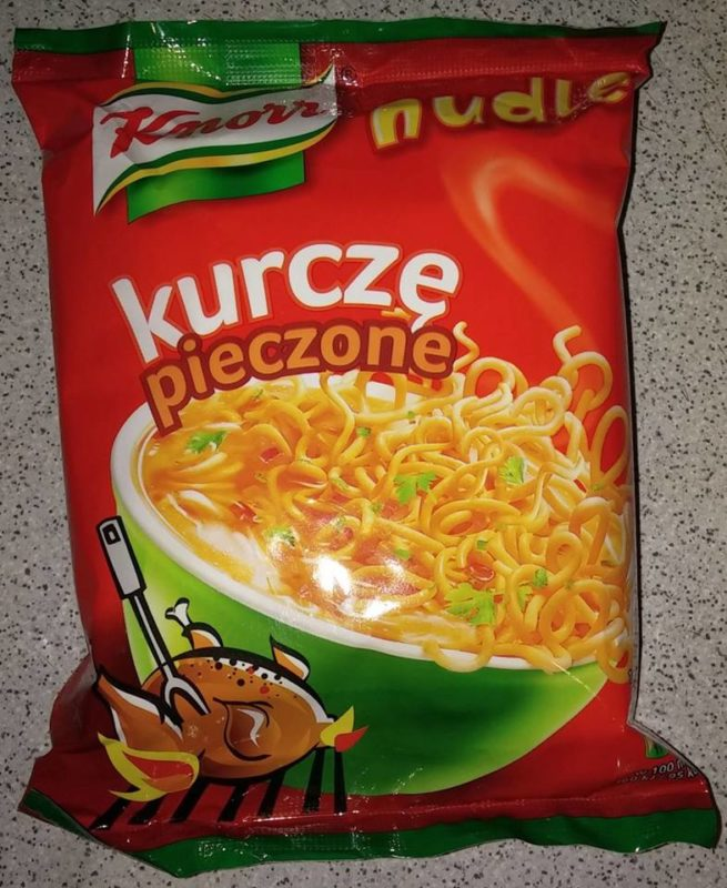 "#340: Knorr Nudle ""kurczę pieczone"" Backhähnchen-Geschmack"