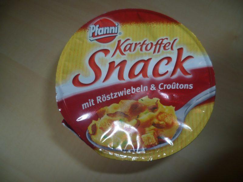 #326: Pfanni Kartoffel Snack mit Röstzwiebeln & Croutons