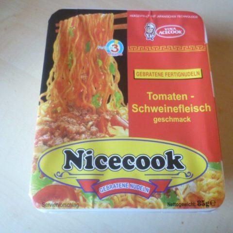 """#329: Vina Acecook """"Nicecook"""" Gebratene Fertignudeln mit Tomaten-Schweinefleischgeschmack"""