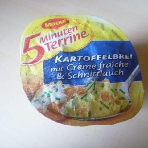 """#330: Maggi 5 Minuten Terrine """"Kartoffelbrei mit Creme Fraiche & Schnittlauch"""""""