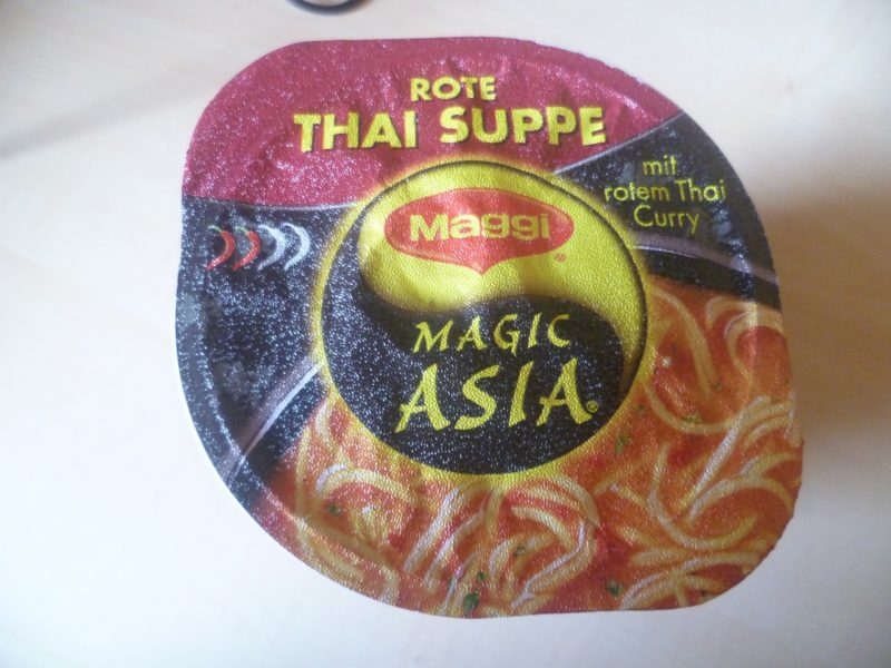 "#331: Maggi Magic Asia ""Rote Thai Suppe"""