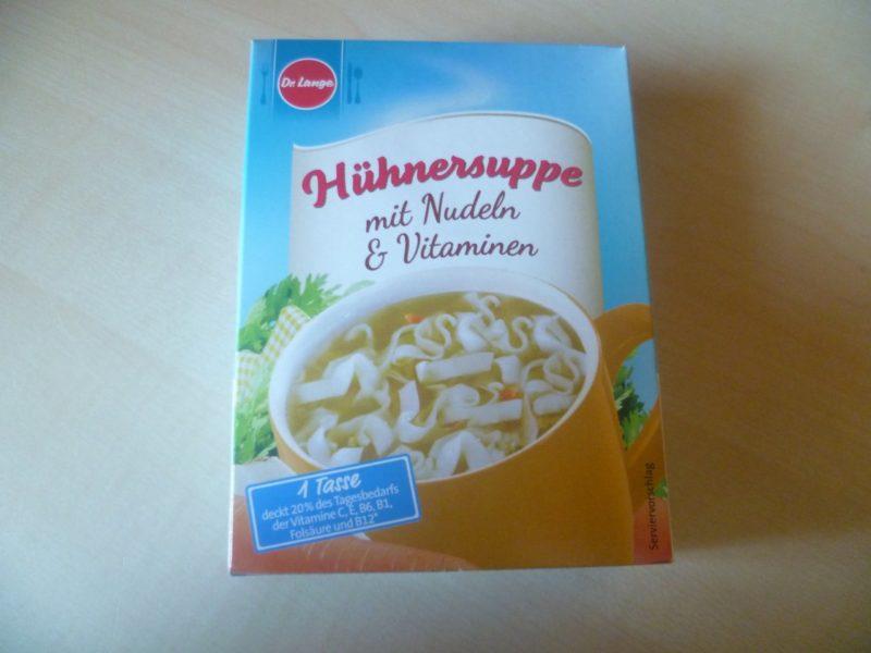 #336: Dr. Lange Hühnersuppe mit Nudeln & Vitaminen