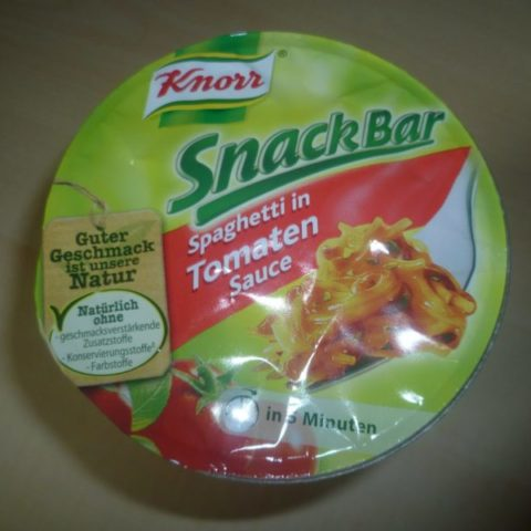 "#342: Knorr Snack Bar ""Spaghetti in Tomaten Sauce"""