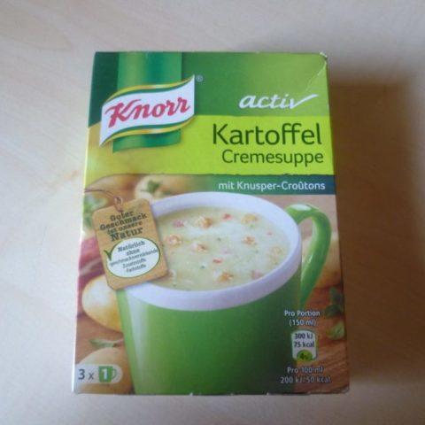 "#356: Knorr Activ ""Kartoffel Cremesuppe"""