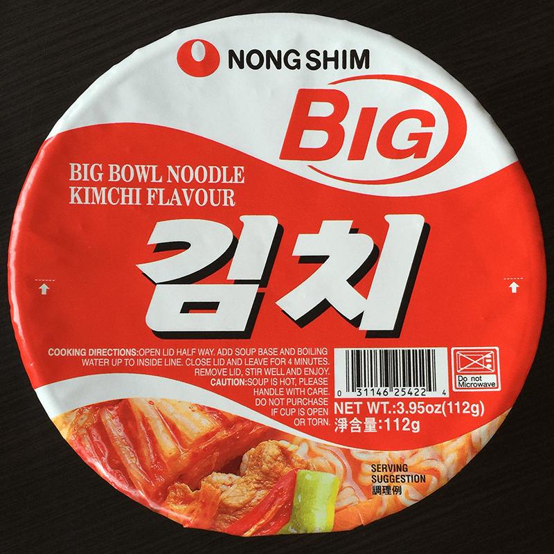 #327: Nongshim Big Bowl Noodle Kimchi Flavour