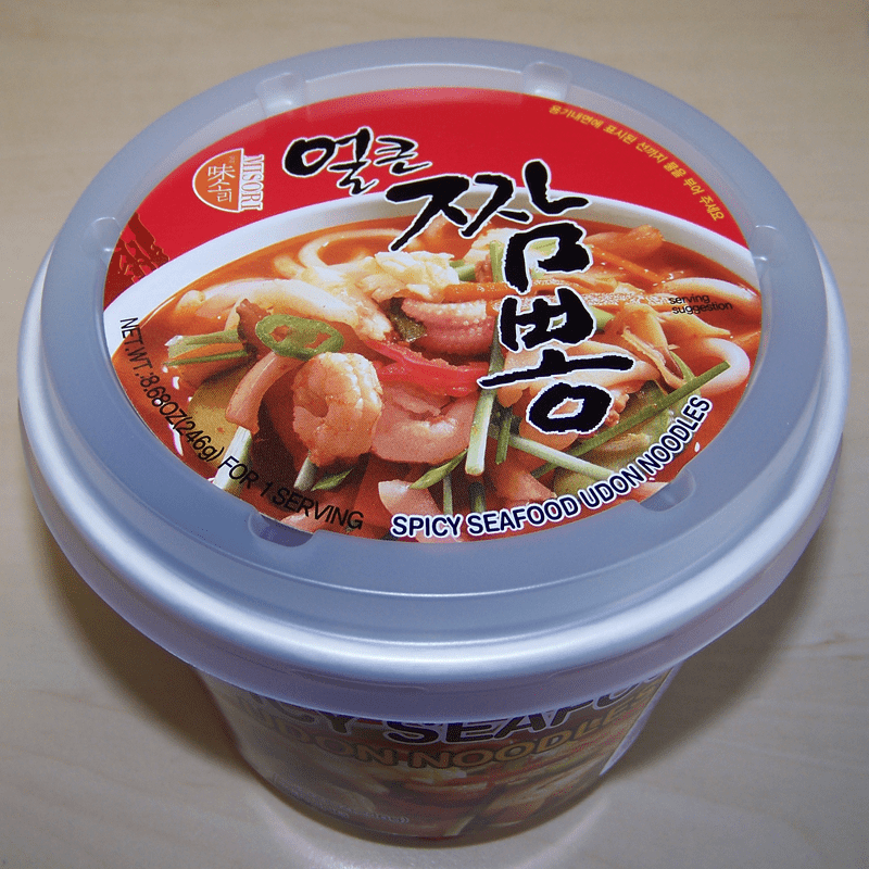 """#394: Misori """"Spicy Seafood"""" Udon Noodles"""