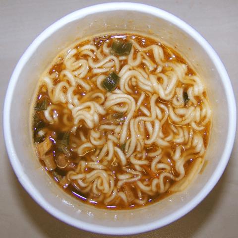 """#363: Nongshim  """"Spicy Shrimp Flavor"""" Cup Noodle Soup"""