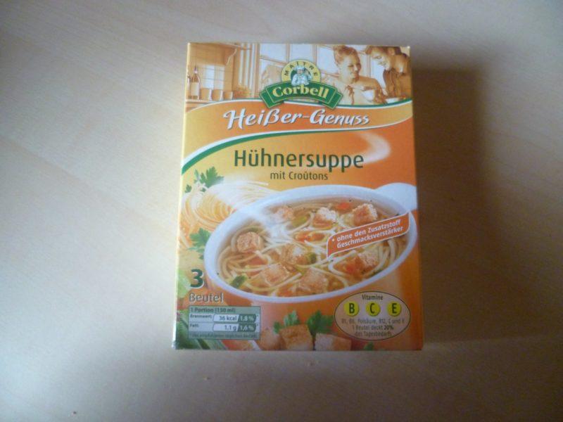 "#359: Maitre Corbell ""Heißer-Genuss"" Hühnersuppe mit Croutons"