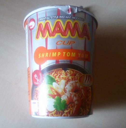 "#364: Mama ""Shrimp Tom Yum Flavour"" Cup Noodles"