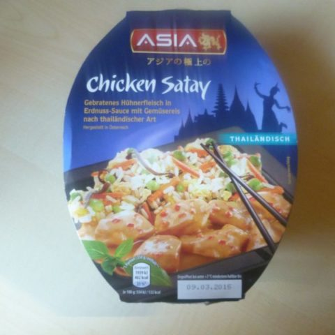 "#371: Asia ""Chicken Satay"""