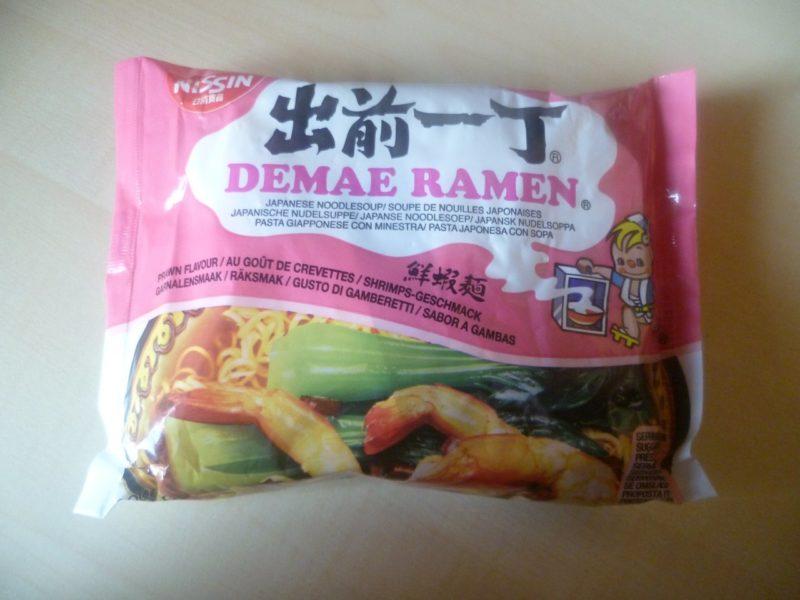 "#375: Nissin Demae Ramen ""Shrimps-Geschmack"""