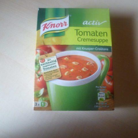 """#376: Knorr Activ """"Tomaten Cremesuppe"""""""