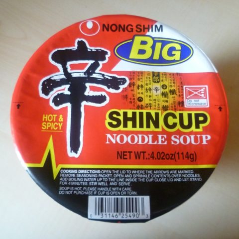 "#380: Nongshim ""Big Shin Cup"" Hot & Spicy"