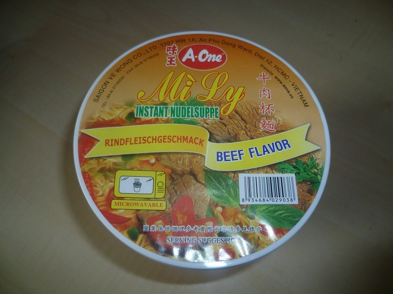 """#392: A-One """"Mi Ly"""" Beef Flavor"""