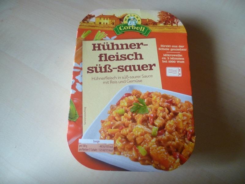 """#397: Maitre Corbell """"Hühnerfleisch Süß-Sauer"""""""