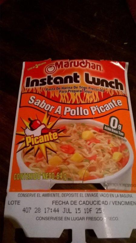 "#382: Maruchan Instant Lunch ""Sabor a Pollo Picante"" (scharfes Huhn)"